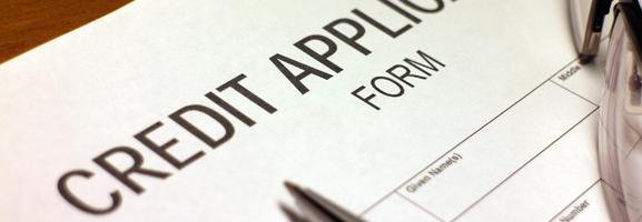 Credit account form