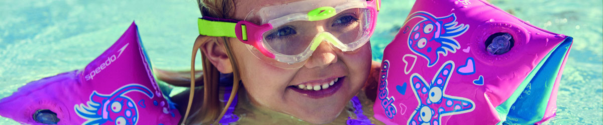 Learn to Swim Sea Squad mask and armbands