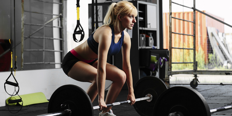 Weight Training Woman