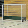 Harrod UK Steel Indoor Folding Wheelaway Hockey Goal Posts
