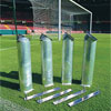Harrod Sport 24ft x 8ft 3G Socketed Stadium Football Posts