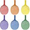 PLAYM8 Mini Tennis Racket 6 Pack