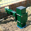 Harrod UK 3G Fence Folding Football Posts 12ft x 6ft