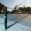 Harrod Sport 76mm Socketed Square Steel Tennis Posts