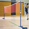 Harrod Sport Wheelaway Schools Training Badminton Posts