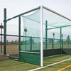 Harrod Sport Fence Folding Hockey Goal Posts
