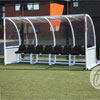 Harrod Sport Premier Curved Floor Fixed Team Shelter