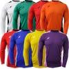 Ziland Team Long Sleeve Senior Football Shirt White/Black
