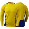 Ziland Team Long Sleeve Senior Football Shirt Yellow/Blue