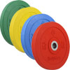 Bodymax Olympic Rubber Bumper Coloured Weight Plate