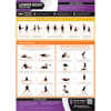 PosterFit Lower Body Stretching Poster
