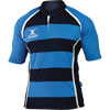 Gilbert Xact Hoops Match Junior Rugby Shirt