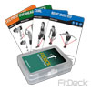 FitDeck Resistance Tube Cards
