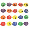 PLAYM8 Numbered Bean Bag Bugs 20 Pack
