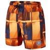 Speedo Beach Colours Printed Check Leisure Watershorts Orange