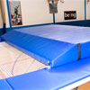 Beemat Trampoline Double Wedge Spotting Crash Mat