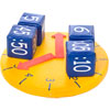 First Play Soft Play Clock With 4 Dice