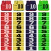 Numbered Training Bibs | 40 Pack