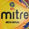 Mitre Delta Legend Training Football Yellow