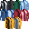 Nike Striped Division III Long Sleeve Junior Football Jersey