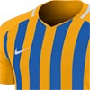 Nike Striped Division III Short Sleeve Senior Football Shirt University Gold/Royal Blue
