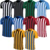 Nike Striped Division III Short Sleeve Senior Football Shirt