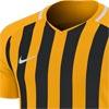 Nike Striped Division III Short Sleeve Senior Football Shirt University Gold/Black