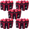 Ziland Sports Water Bottles and Carriers Pack of 5