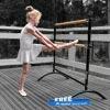 Beemat Freestanding Adjustable Double Ballet Barre 110cm