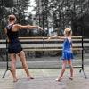 Beemat Freestanding Adjustable Double Ballet Barre 220cm