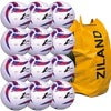 Ziland Pro Trainer Netball 12 Pack White