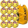 Ziland Pro Trainer Netball 12 Pack Yellow