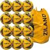 Mitre Ultimatch Match Football Yellow 12 Pack