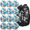 Mitre Impel Max Training Football White 12 Pack