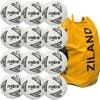 Mitre Impel Training Football White 12 Pack