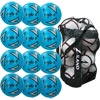 Mitre Impel Training Football Blue 12 Pack