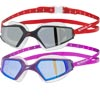 Speedo Aquapulse Max 2 Mirror Swimming Goggles