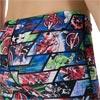 Speedo Marvel Avengers Allover Jammer Black/Neon Blue/Lava Red
