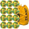 Mitre Ultimatch Futsal Football Yellow/Green/Blue