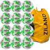 Mitre Impel Futsal Football White/Green