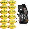 Gilbert Omega Match Rugby Ball Fluorescent 12 Pack