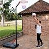 Netball Post Trainer Telescopic