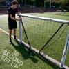 Quickplay Match Fold Football Goal 6ft x 4ft