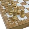 Pine Wood Foldable Chess Set