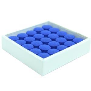 Blue Velvet Stick on Cue Tips 50 Pack