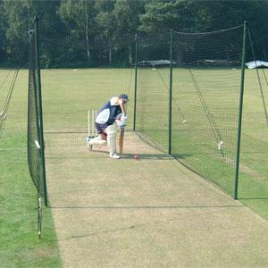 Harrod UK Wooden Pole Cricket Net System