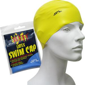 JPL Senior Latex Swimming Cap