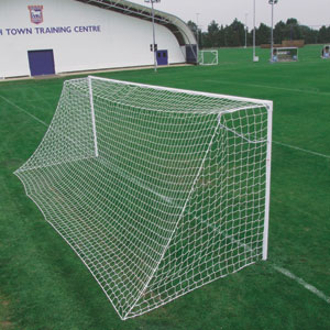 Harrod Sport Socketed Heavyweight Steel Football Posts 21ft x 7ft