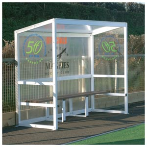 Harrod UK Freestanding Aluminium Team Shelter