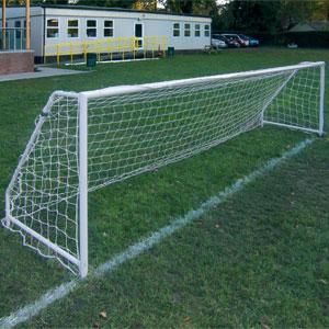 Harrod UK Socketed Steel Football Posts 5 v 5